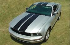 Racing Rally Stripes Hood Roof Decal Vinyl Graphics for Ford Mustang 2005-2009