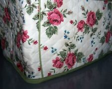 Rose Stems Quilted Fabric 2-Slice or 4-Slice Toaster Cover NEW