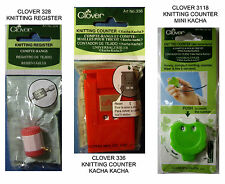 NEW CLOVER KNITTING COUNTER * Your Choice * Register COunter Kacha Kacha Mini