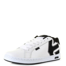 Mens Etnies Fader White Dark Grey Casual Fashion Skate Trainers Shoes Size