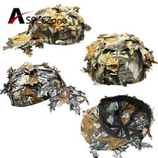 Outdoor Cap with Bionic Leaf Fast Dry Camo Hunting Snipper Hat Digi /Yellow Camo