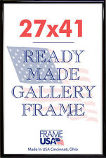 27x41 Deluxe Poster Frame Pack of 12 Frames - Black, Silver or Gold