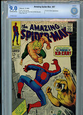 Amazing Spider-man #57 Marvel Comics CBCS 9.0 Check VF/NM 1968 Ka-Zar