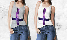 New Mens or Womens Unisex GALAXY SPACE CROSS TANK TOP Size S - XXL Hipster Shirt
