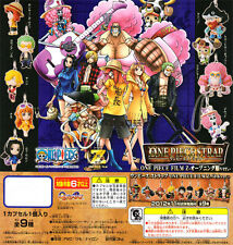 Bandai One Piece OVA Movie Film Z Phone Strap Opening Costume Figure