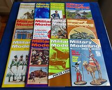 """MULTI-LIST SELECTION OF """"MILITARY MODELLING MAGAZINE""""  FROM YEAR 1974"""