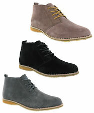 New Mens Cotswold Classic Soft Suede Leather Lace Up Desert Boots Size 6-12 UK