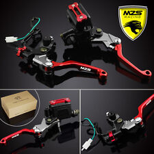MZS Brake Clutch Levers Master Cylinder Reservoir For Honda CBR300R/250R/CRF150R