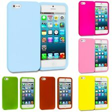 Color Hard Snap-On Rubberized Case Skin Cover Accessory for iPhone SE
