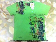 UNIQLO MEN JEAN-MICHEL BASQUIAT DE UN PUNO Art Green Short Sleeve T-Shirt*New*M*