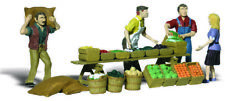 Woodland Scenics HO Scale Scenic Accents Figures/People Set Farmer's Market