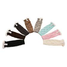 2pcs Kids Leg Warmers Winter Knitted Socks Leg Warmer Cover Leggings for Girls