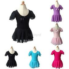 Lovely Kids Girl Ballet Costume Child Tutu Skirt Gymnastics Leotard Dance Dress