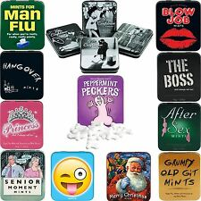 Novelty Retro Sweets Mints Polo Mint Tin Gifts For Men Her Boyfriend Gift