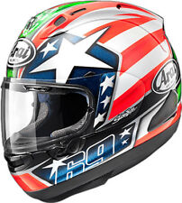 Arai Corsair-X Nicky 6 Full Face Helmet Snell Rated Free Size Exchanges