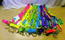 NEON Valhoma Calf Yearling Cow Bull Nylon Control Chain Show Barn halter Buckles