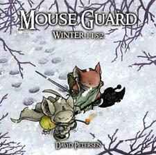 Mouse Guard Volume 2: Winter 1152 by David Petersen Hardcover Book (English)