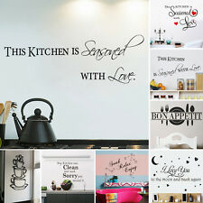 Removable Wall Sticker Vinyl Quote Mural Home Art Living Room Decal Decor DIY LD