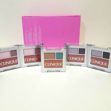 CLINIQUE All about Eye Shadow Duo~AG nude rose-Rock Violet-Blackberry Frost