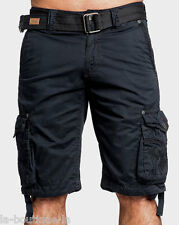 Affliction Black Premium - SATISFACTION - Men's Cargo Shorts - NEW - Black