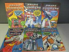 Ladybird 'The Transformers' Series  - 6 Books Collection! (ID:33224)