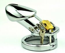 New High quality Male Chastity Device Bird Lock Stainless Steel Cock Cage 600S-2