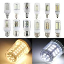 E27/E14 LED 3W/4W/5W/6W/7W/8W SMD Corn Spot Light Bulb Warm/White with Cover