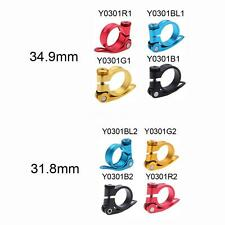 31.8 mm Bicycle Bike Cycle Mountain Seat Post Clamp Quick Release Alloy HM W2M8