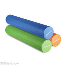 EVA Yoga Pilates Foam Roller GYM Exercise Back Texture Physio Massage 15x90cm AU