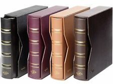Classic Genuine Leather Luxury Numis Banknote Album with Slipcase & Pages