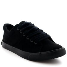 Womens Rocket Dog Campo Quest Fabric Black Lace Up Low Top Casual Trainer UK 3-8