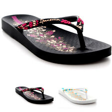 Womens Ipanema Lovely IV Summer Beach Toe Post Thong Sandals Flip Flops UK 3-8