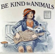 Be Kind To Animals 1 ~ Dogs ~ Counted Cross Stitch Pattern