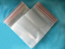 100pcs 3MIL Jewelry Resealable Plastic Seal Zip Lock Bags Clear Poly Ziplock Bag