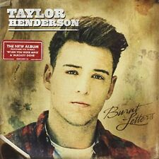 TAYLOR HENDERSON-BURNT LETTERS-CD  NEW