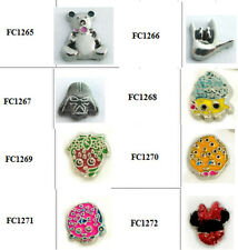 10pcs lovely Cartoon Cupcake Cookie Nice  floating charms For  Free shipping