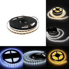 5M 3528/5050 SMD 300 LED Warm/White Flexible Strip Light for Home Car Boat