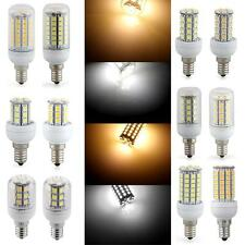 E14 5W/7W/8W LED 5050 SMD Warm/White Corn Light Bulb Lamp AC 220V