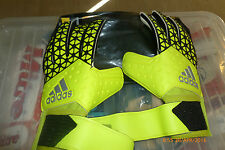 Adidas Goalkeeper Gloves Ace Competition Negative Cut Allround Grip  Size 9 New