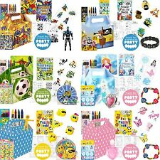 Boys Girls Themed Childrens Birthday Loot Party Bags Fillers For Kids