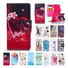 Flip Cards Slot hybird Leather Stand Wallet Case Cover For Huawei Ascend P8/Lite