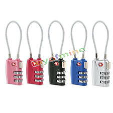 TSA Security 3 Digit Combination Travel Suitcase Luggage Code Lock Padlock