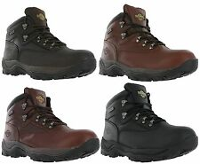 Northwest Territory Inuvik Leather Lace Up Walking Hiking Trail Mens Boots
