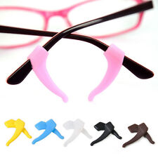 2Pair Silicone Glasses Ear Hook Tip Eyeglasses Grip Anti Slip Holder Glasses Set