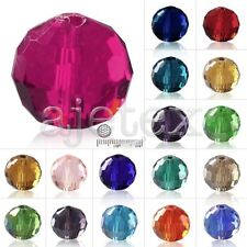 50-100pcs Crystal Beads Disco Ball Fit Necklace Bracelet Jewelry 6/8/10/12mm