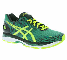 NEW asics Gel-Nimbus 18 Men's Sneakers Running Sports Shoes Green T600N 8807 WOW