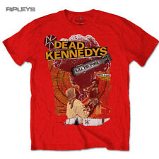 Official T Shirt DEAD KENNEDYS Punk Vintage Red ~ Kill The Poor All Sizes