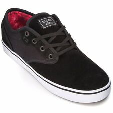 Men's Globe Motley Black Suede & Cord Skate Shoes. Size 8 - 13. NIB, RRP $89.95