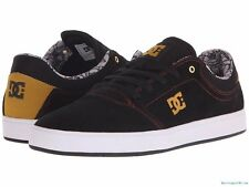 Men's DC Crisis Black Suede Skate Shoes. Size 9 - 14. NIB, RRP $89.95.