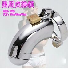 New High quality Male Chastity Device Bird Lock Stainless Steel Cock Cage EL06